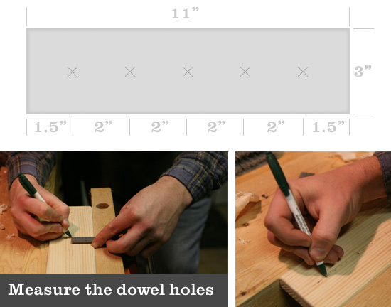 measuring-holes